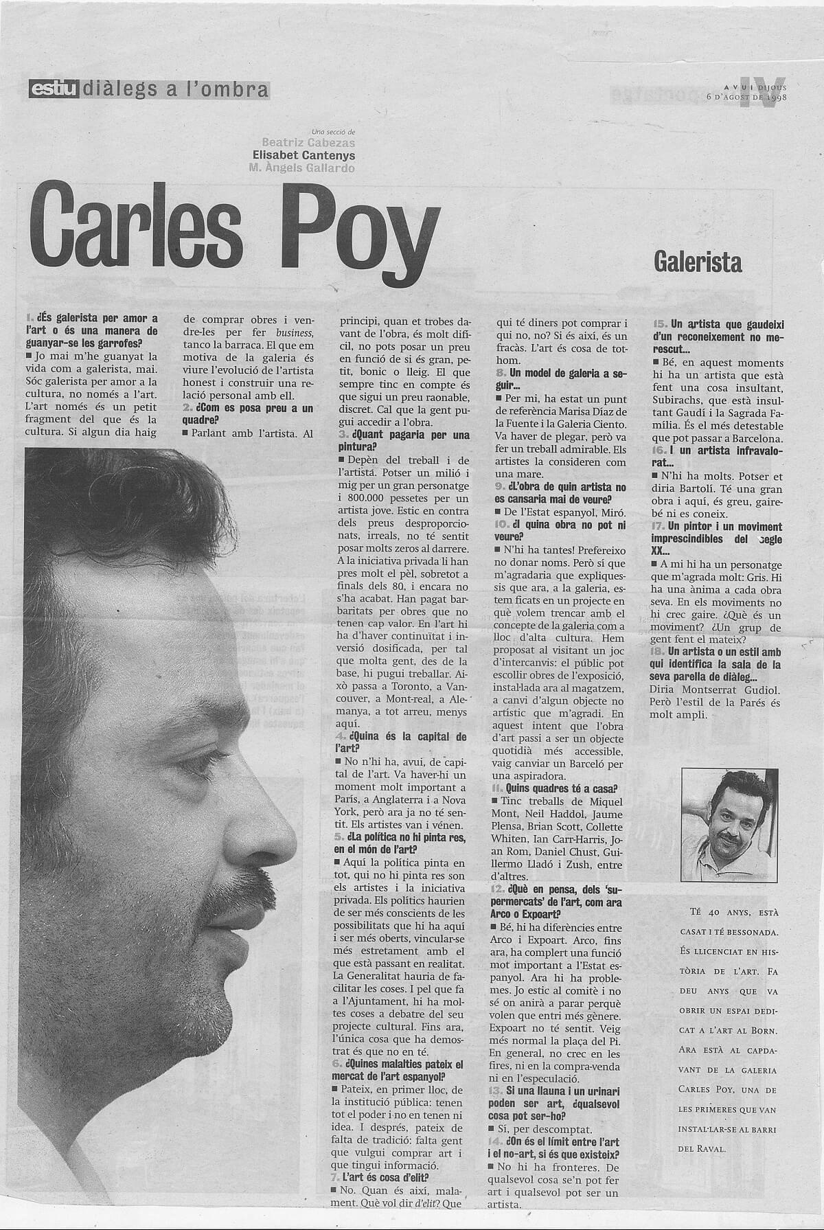 6 d'agost de 1998_estiu diàlegs a l'ombra_Elisabet Cantenys