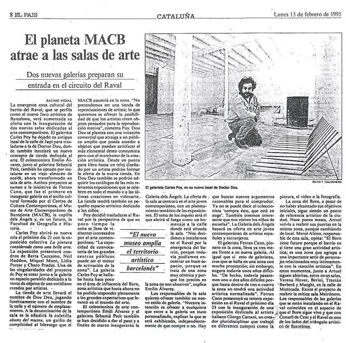 El planeta MACB atrae a las salas de arte